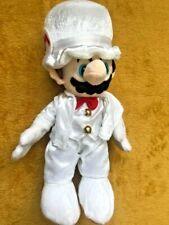"Super Mario Plush Teddy - Mario Odyssey Wedding Suit Soft Toy - Size 12"" / 30cm"
