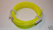 New Weight Forward Floating Fly Line Wf-3-F Yellow .030 80' Trout Steelhead