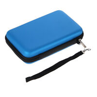 Blue EVA Skin Carry Hard Case Bag Pouch for Nintendo 3DS XL LL with Strap