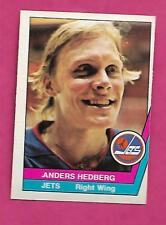 RARE 1977-78 OPC WHA # 3 JETS ANDERS HEDBERG  EX-MT CARD (INV# C0641)