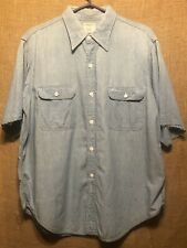 Vintage 1970's Big Mac Cotton Chambray Shirt