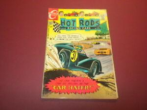 HOT RODS AND RACING CARS #105 Charlton Comics 1970 sports