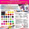 """SISER EASYWEED IRON-ON HTV HEAT TRANSFER VINYL 12"""" WIDE x 1, 3, AND 5 YARDS"""