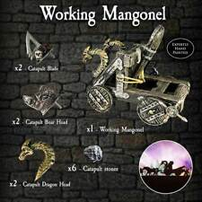 Dwarven Forge Terrain Set - WORKING MANGONEL (AWESOME CATAPULT and NEW IN BOX!!)