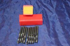 SKF HSS Screw Machine Length Drills Right Hand 0212BL A230 15/64 10 in box