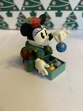 Christmas Disney Hallmark Keepsake Minnie Mouse Trims Tree Ornament New In Box