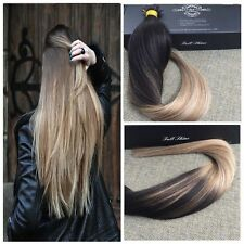 "Full Shine Pre Bonded I/Stick Tip 20"" 100g Human Hair Extensions Ombre/Dip Dye"