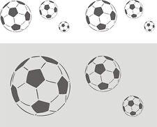 Schablone, Malerschablone, Dekorschablone, Wandschablone, Fries - Fußball,  Ball