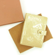 Louis Vuitton Handbook cover Vernis Beige Woman Authentic Used A1280