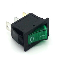 12V LED Lighted Car Dash Boat 3-Pin SPST On/Off Rocker Switch Large Rectangle