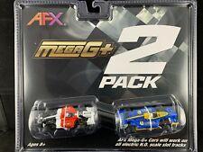 21017 AFX Mega G Plus 2 Pack Formula 1 Twin Pack Tomy HO Scale 1 64