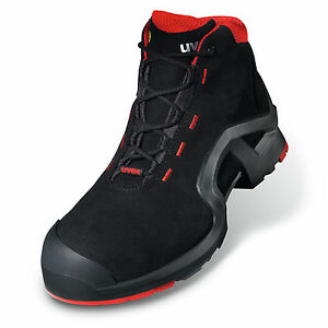 uvex Safety Boots 100% Composite Safety Toe-Cap & Mid-Sole No Metal Airport Safe