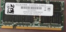 VR4DP287228EBKS5 1GB DDR PC2700 DDR-333MHZ 64X8 18CHIPS 200PIN SODIMM ECC