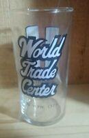 Vintage World Trade Center Souvenir Juice Glass Pre- 2001