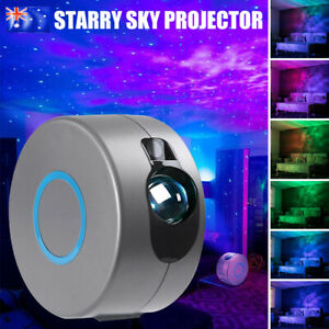 3D LED Starry Sky Star Projector Nebula Night Light Lamp Galaxy Baby Room Party