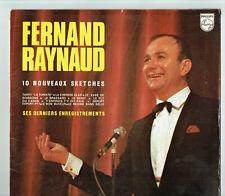 33 Rpm Fernand Raynaud Vinyl LP 10 New Sketches -last Reg Philips 6325076