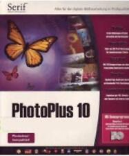 Serif PhotoPlus 10 w/ AlbumPlus 4 PC CD image editing enhance pictures suite!