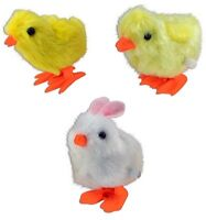 WIND UP FUZZY BUNNY OR CHICK - One Item w/Random Color and Design