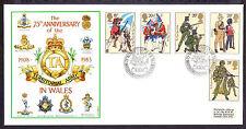 Handstamped Military, War Decimal Great Britain Stamps