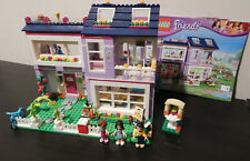 Lego Friends Emma's House 41095with Instructions-99.9% Complete(1 Missing Part)