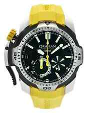 GRAHAM CHRONOFIGHTER PRODIVE 45mm CHRONOGRAPH AUTOMATIC MEN'S WATCH $15,750