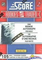 2011 Score Hockey Rookies & Traded Factory Sealed Box-105 Cards+AUTOGRAPH