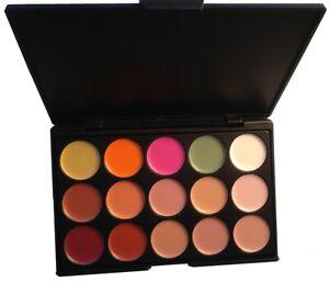 15 Shades Colour Concealer Contour Makeup Palette Kit Make Up Set (CL3)