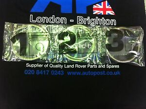 LAND ROVER DISCOVERY 300TDI std PISTON RING SET FOR 4 PISTONS - STC958