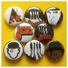 """CLOCKWORK ORANGE 1"""" buttons badge STANLEY KUBRICK"""