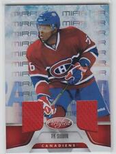 2011-12 Certified Mirror Red Dual Jersey #128 P.K. Subban 072/150