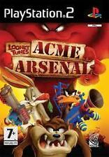 PS2 GAME: LOONEY TUNES ACME ARSENAL 'PAL UK'