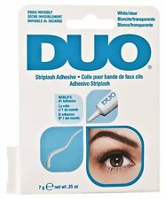 Ardell DUO - White/Clear Striplash Adhesive 7g / 0.25 oz ( 68010 ) FREE SHIPPING