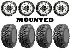 Kit 4 Interco Sniper 920 Tires 27x9-14 on Frontline 556 Machined Wheels TER