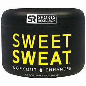 Sports Research, Sweet Sweat Workout Enhancer, 6.5 oz (184 g)