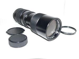 Vivitar Nikon F Mount 1:3.8, 85~205mm Ai Close Focusing Zoom Lens w/Caps, Filter