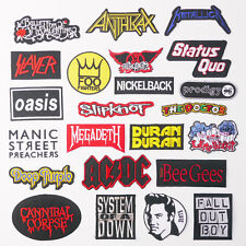 ANY MUSIC PATCH For £1.20 - The 'ORIGINAL' & Just 80p Postage Max - UK SELLER!