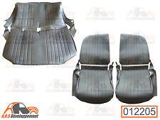 GARNITURES pour sièges AV D & G asymétriques + banquette AR Citroen 2CV  -12205-
