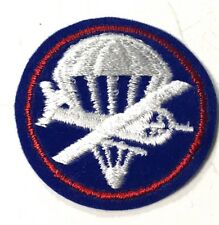 WWII AIRBORNE PARATROOPER OFFICER COMBO PX OVERSEAS CAP PATCH-V.2