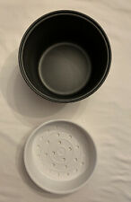 Aroma Rice Cooker Replacement Parts Steam Tray & Pot - 2 Quart / 8 Cups - Used