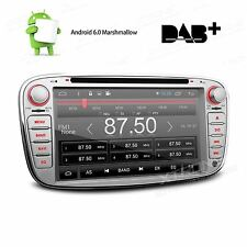 Ford Focus/Mondeo/S-Max Radio Android 6.0 Car DVD Player GPS Sat Nav DAB+ OBD2