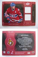 2009-10 UD Artifacts TS-AK Alexei Kovalev 2/5 treasured swatches RED Canadiens