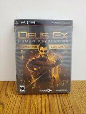 Deus Ex: Human Revolution Augmented Edition - Sony PlayStation 3, near mint new!