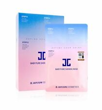 JAYJUN 3 Steps Baby Pure Shining Facial Mask Pack Sheet 10Pcs