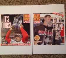 Phillies 2010 Limited Edition Collection Daily News Cover Poster Pages (10)