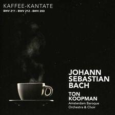 Ton Koopman, J.S. Ba - Coffee & Peasant Cantatas [New CD]