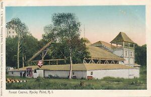 WARWICK RI – Rocky Point Forest Casino - udb (pre 1908)