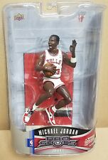 MICHAEL JORDAN II Chicago Bulls 1998 UD Pro Shots Figure White Home Jersey