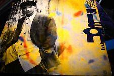 黎明 Leon Lai self title   HONG KONG 12' 1990 W.POSTER INSERT vinyl LP ex