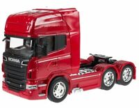 SCANIA V8 R730 / 3-Achsen - red - WELLY 1:32