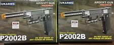 2 pack of Airsoft guns with laser site plus ammo